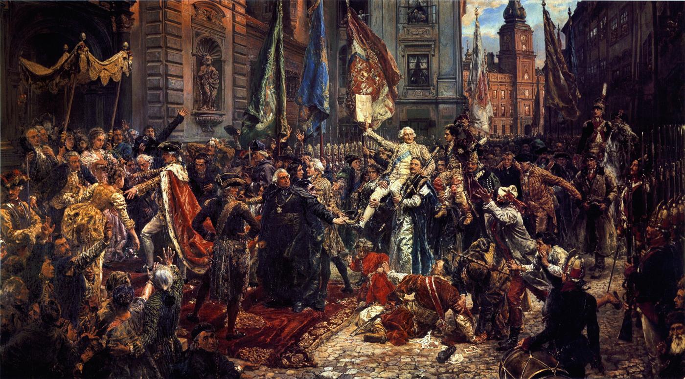 Jan Matejko- Uchwalenie Konstytucji 3 maja