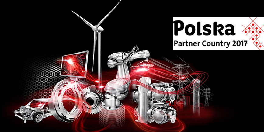 POLSKA krajem partnerskim podczas HANNOVER MESSE 2017
